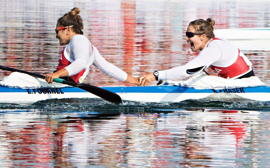 Quatrième place crève-coeur pour Fournel en kayak