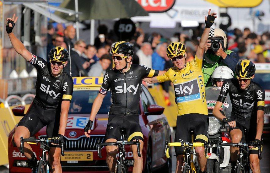 Froome remporte le Tour de France