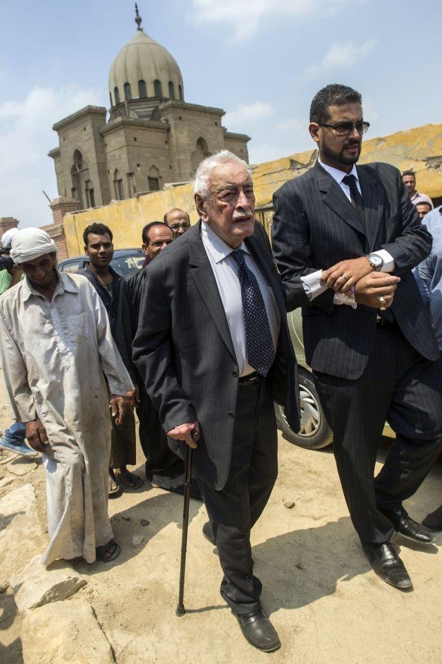 Adieux discrets à Omar Sharif en Egypte