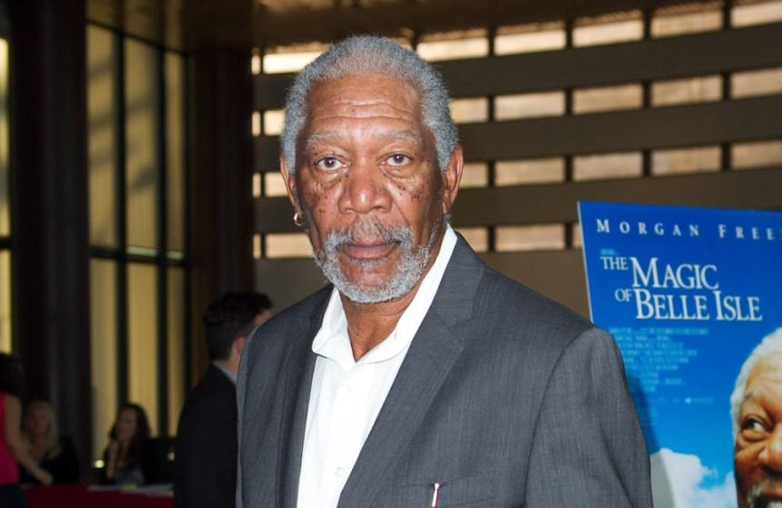 Morgan Freeman voudrait mourir sur scène