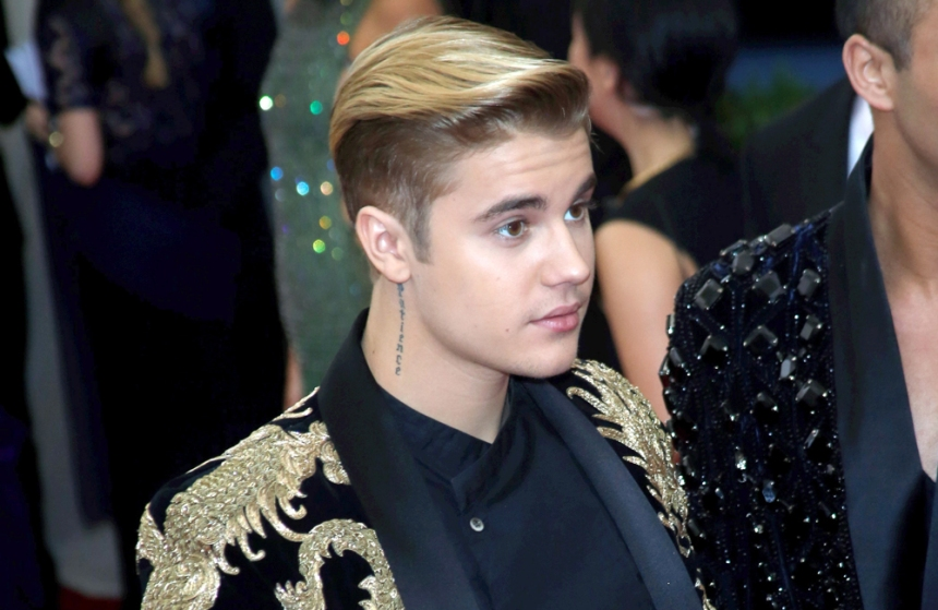 Justin Bieber, un grand frère en or