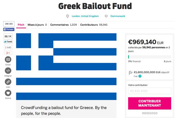 Non, ce jeune Londonien ne va pas sauver la Grèce avec une campagne Indiegogo