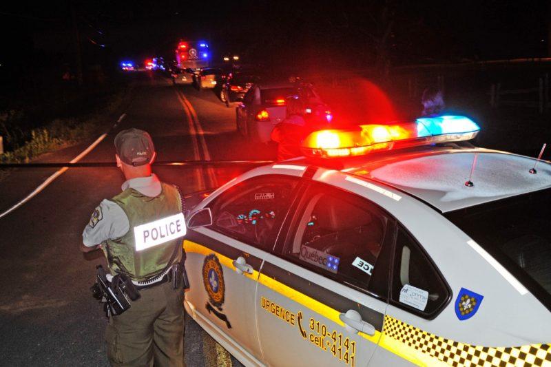Marieville: la SQ trouve un corps dans une voiture