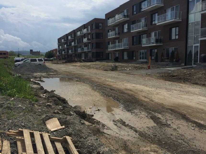 Des résidants de Rosemont sans rue depuis huit mois