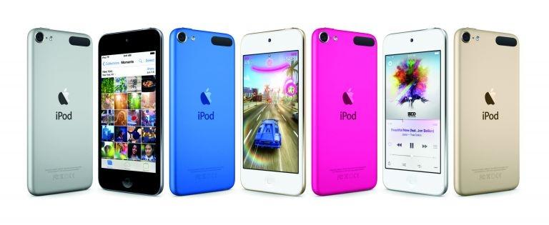 Apple sort une nouvelle génération d'iPod Touch