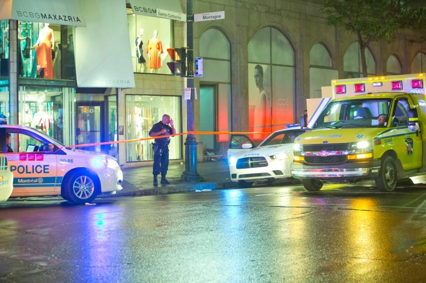 Un homme gravement blessé dans une bagarre au centre-ville