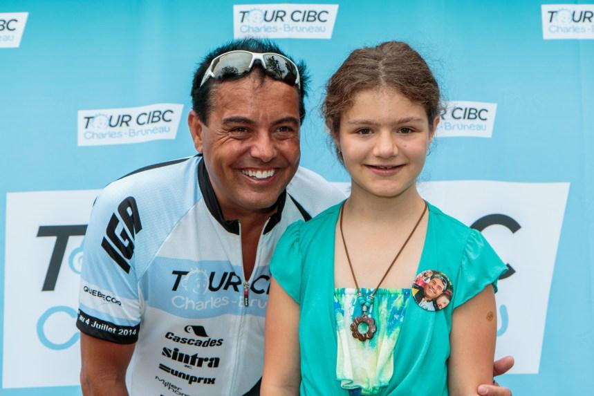 Pierre Delisle a pédalé 600 km pour les enfants malades