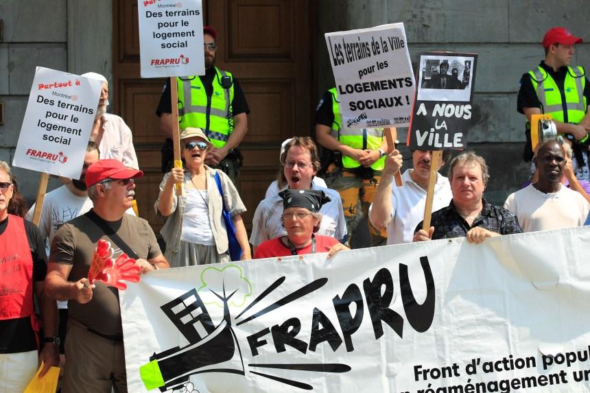 Le FRAPRU demande plus de vigueur à l'administration Coderre