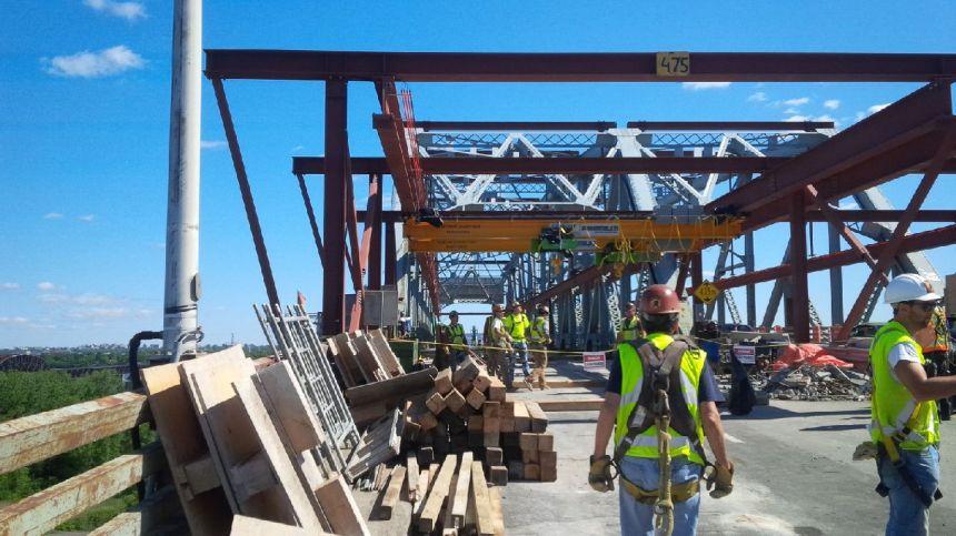Pont Mercier: réouverture des voies une semaine plut tôt