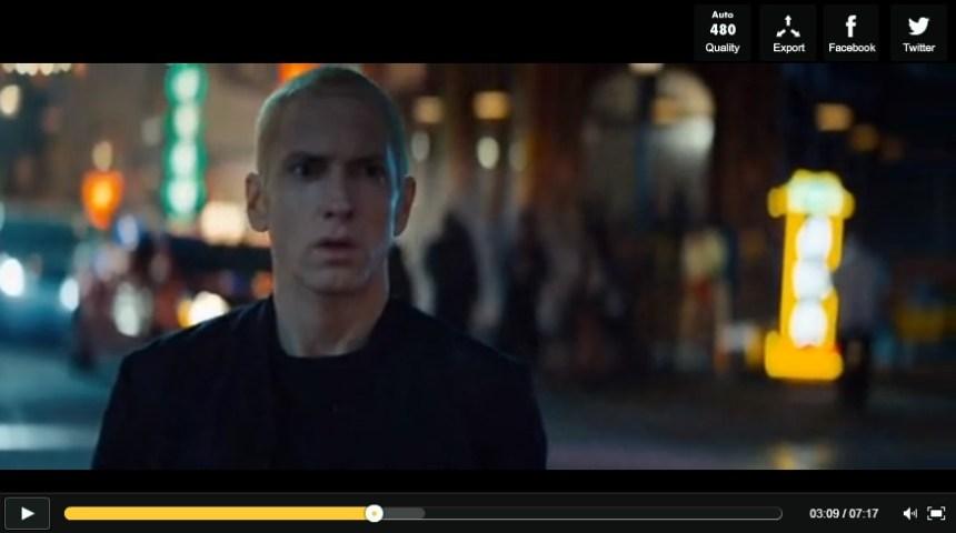 John Malkovich et Dr Dre dans le dernier clip d'Eminem