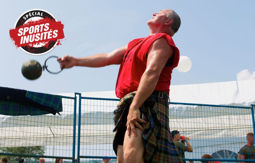 Hommes forts à l'écossaise
