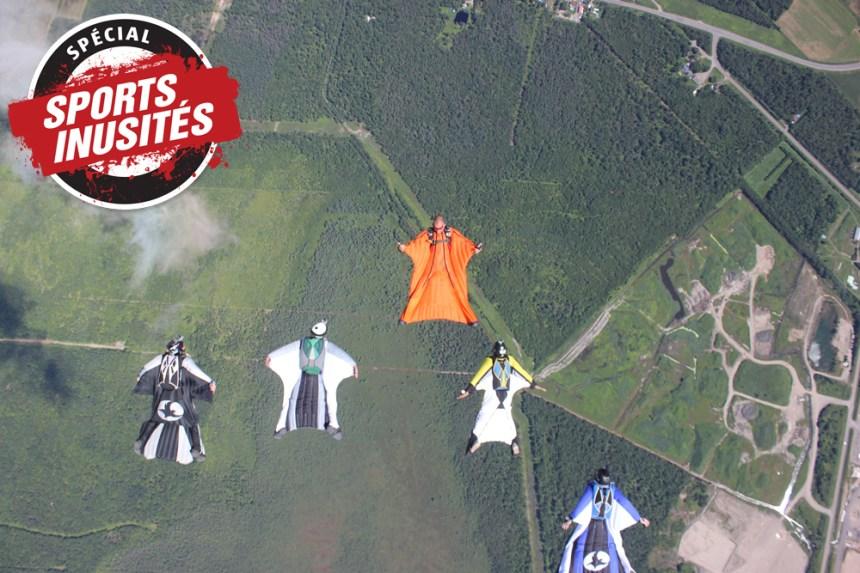 Les parachutistes volants