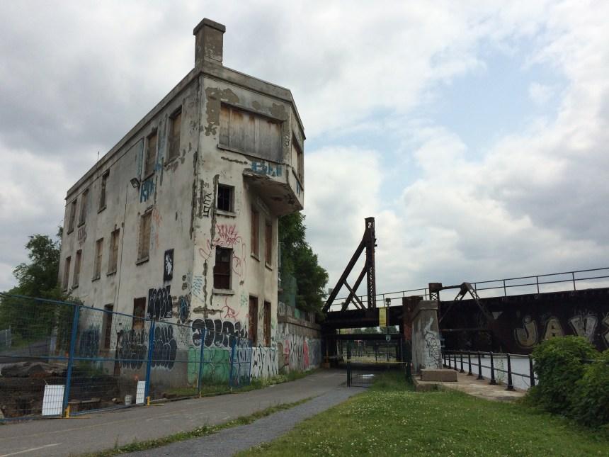 La tour d'aiguillage Wellington deviendra un incubateur culturel