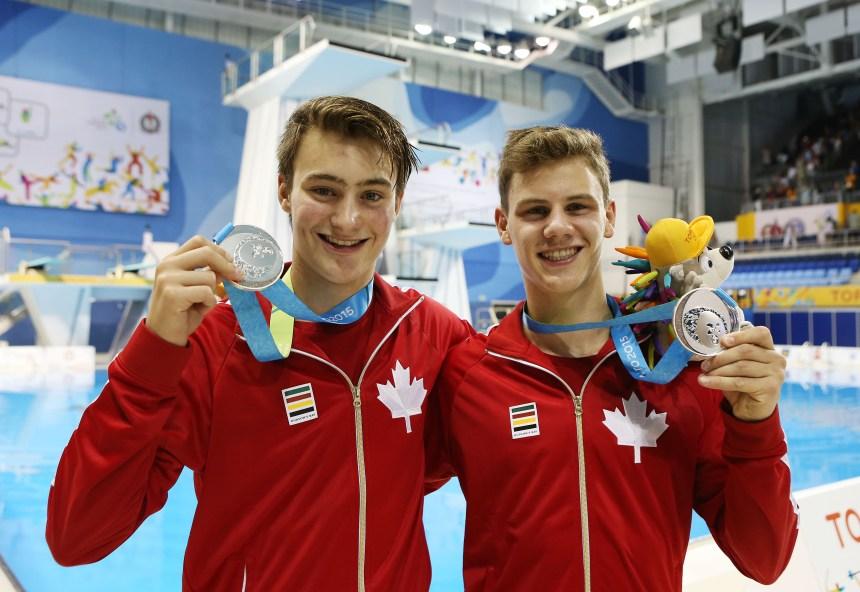 Jeux panaméricains: médaille d'argent pour le plongeur Vincent Riendeau