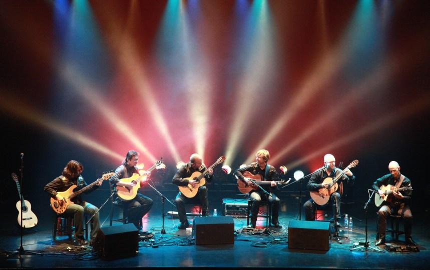 Virtuoses de la guitare en spectacle au parc des Rapides