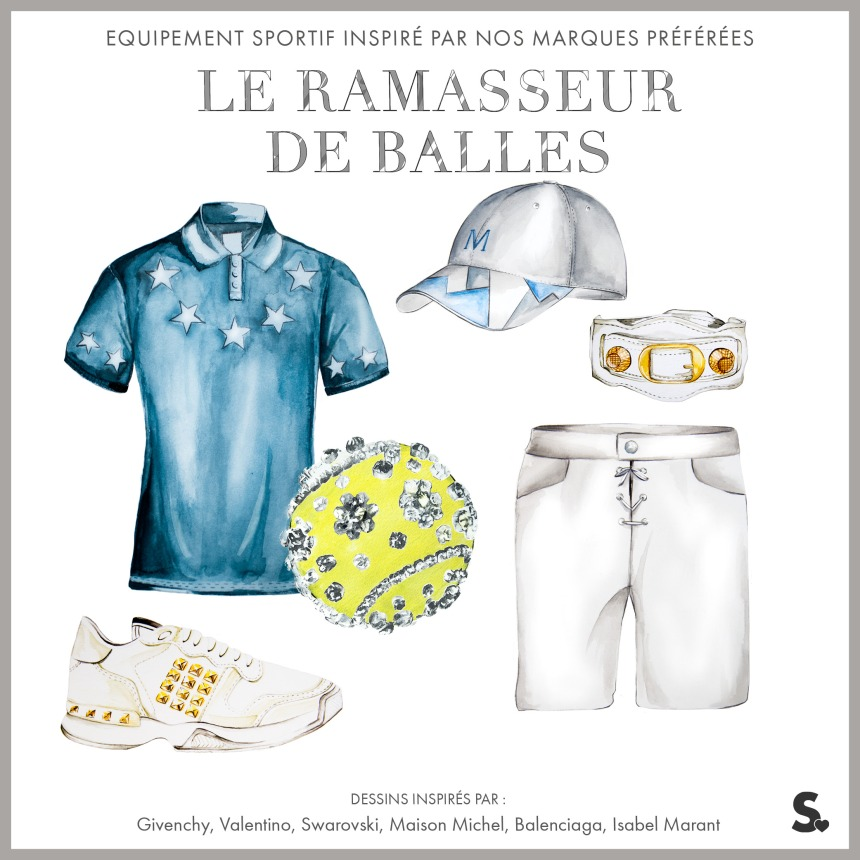 Pour amateurs de tennis et de style