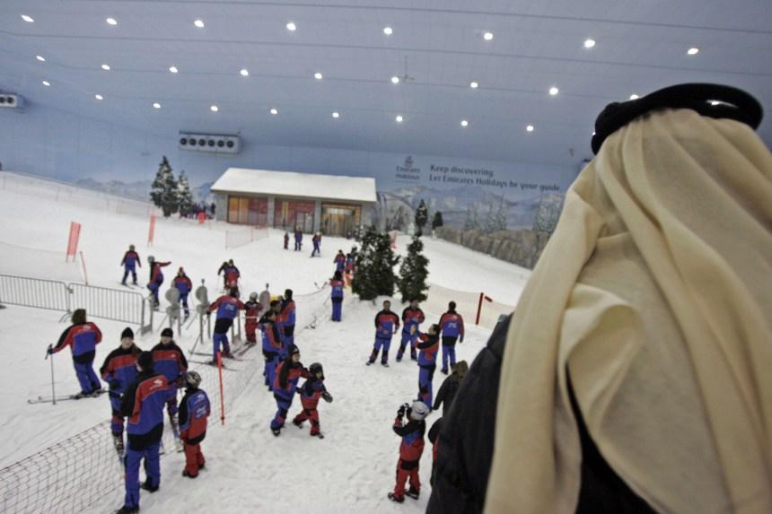Dubaï annonce la plus grande station de ski couverte au monde