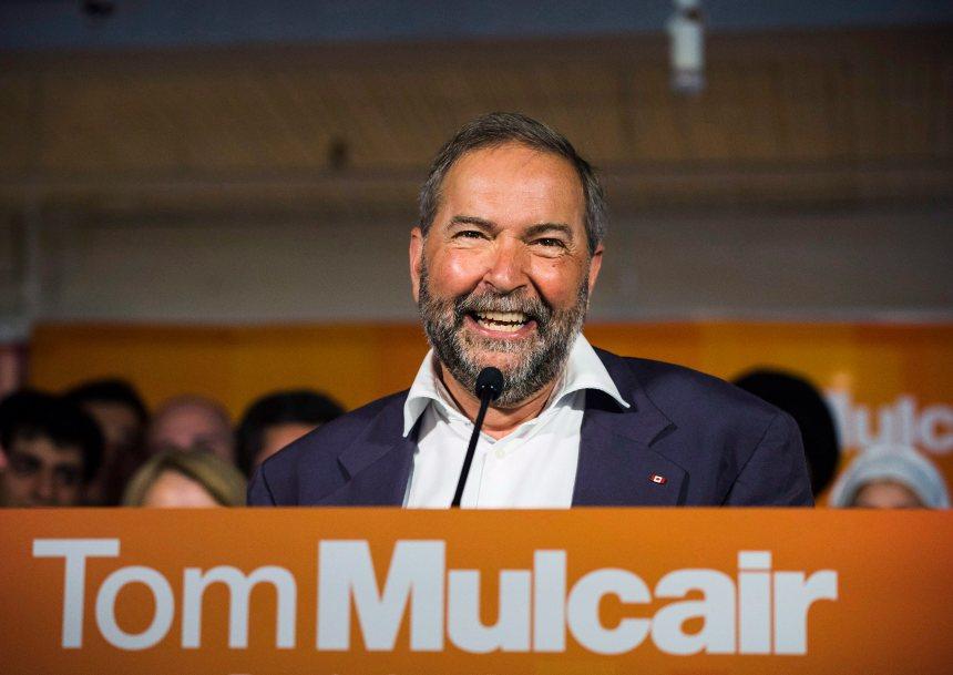 Mulcair se dit ravi de sa performance au débat