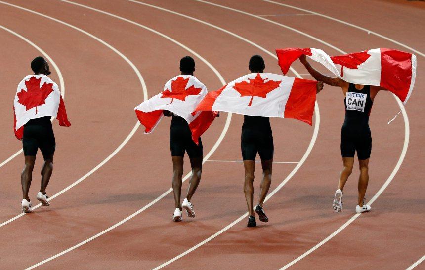Le relais canadien obtient le bronze à Pékin