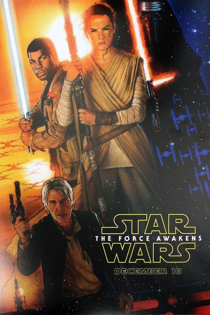 L'affiche officielle de «Star Wars VII» révélée