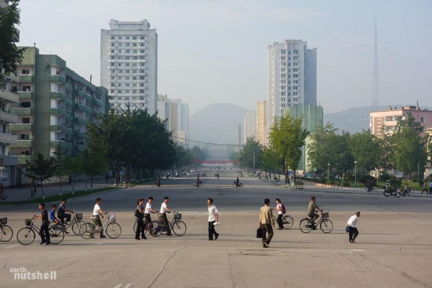 Photos: la vie en Corée du Nord, vue par un jeune blogueur australien