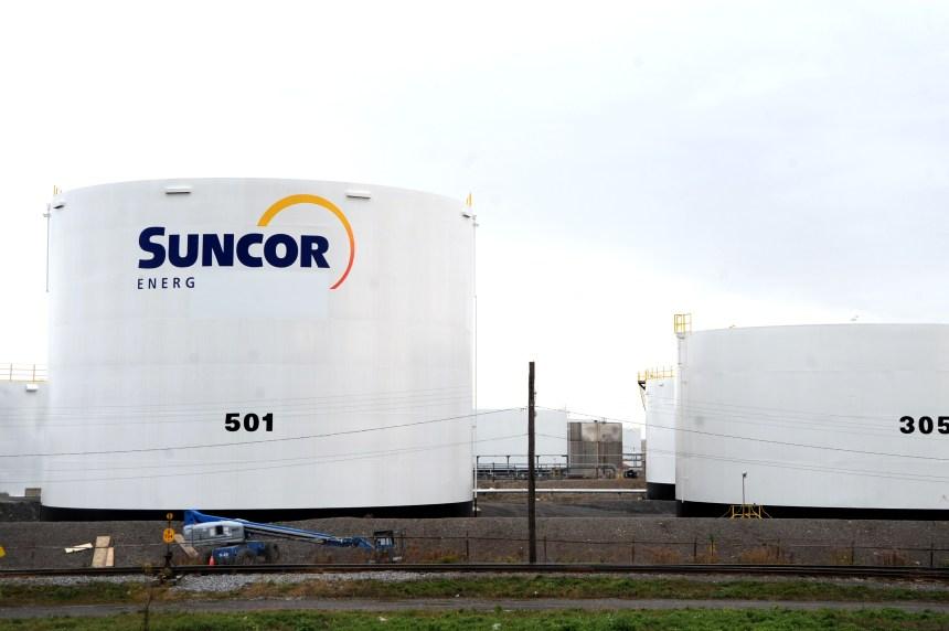 Suncor condamné à payer 157 661$ pour un déversement en 2010