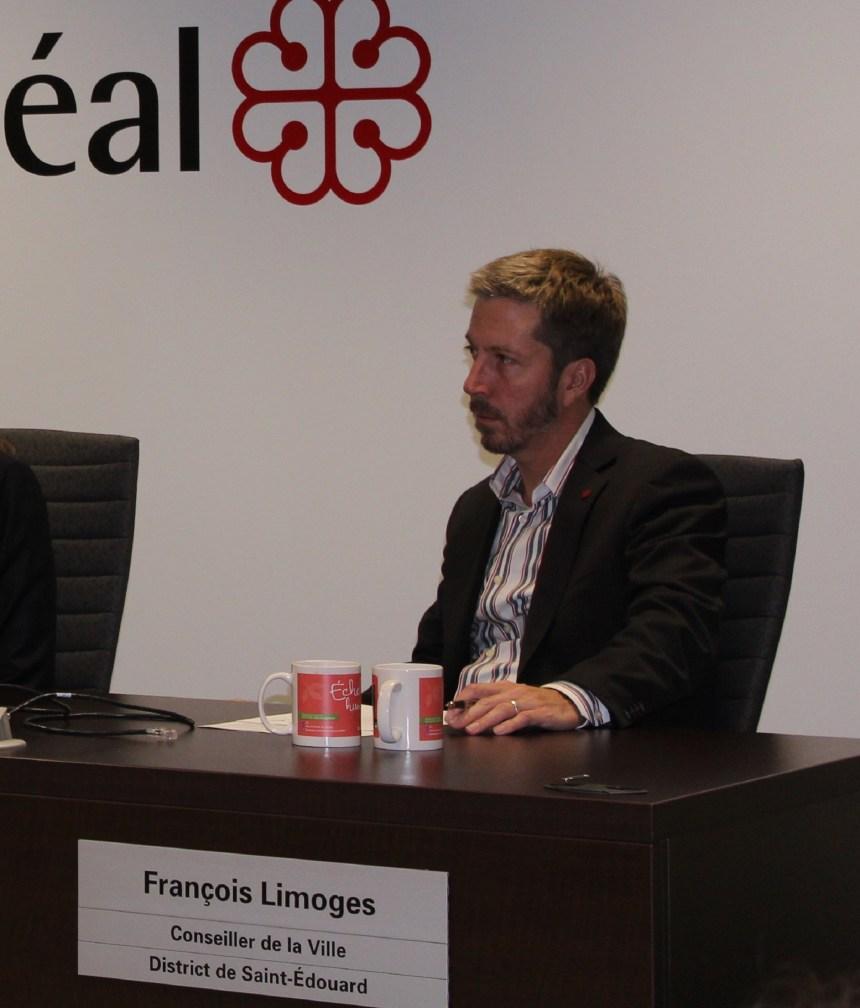 François Limoges devient le numéro 2 de l'Opposition officielle