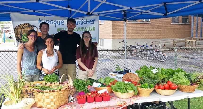 Des fruits et légumes de qualité à saveur locale dans Mercier