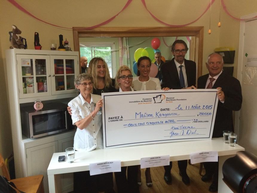 Don de 250 000$: la Maison Kangourou pourra poursuivre ses activités