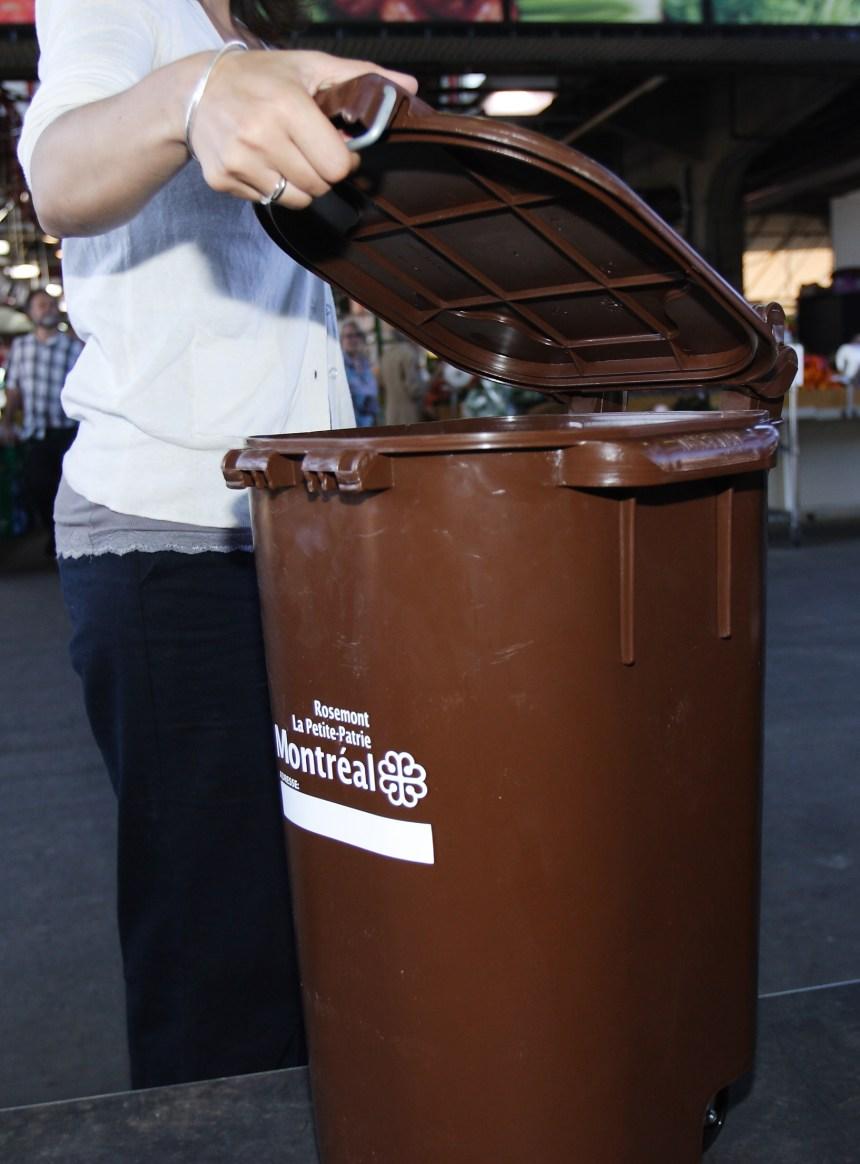 Compost: pas de bacs bruns avant 2016 à Montréal-Nord