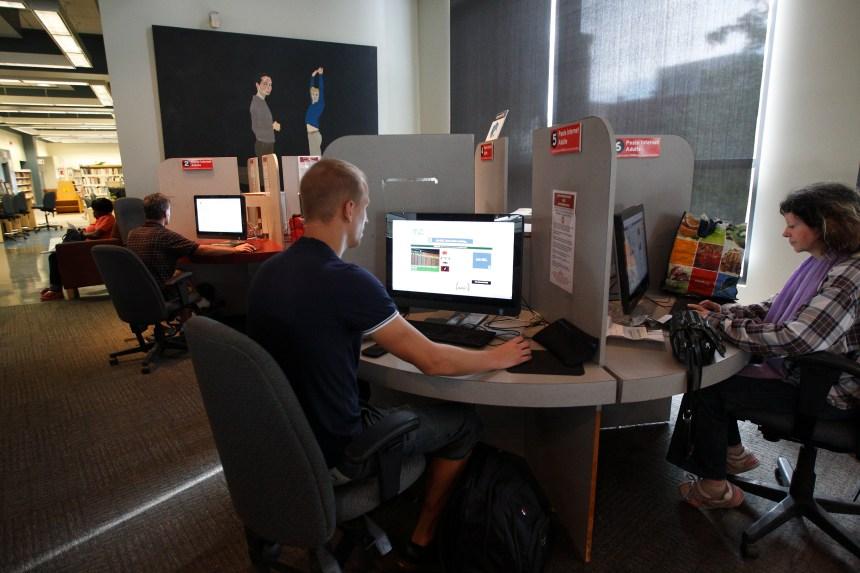 Vivre sans internet: les exclus