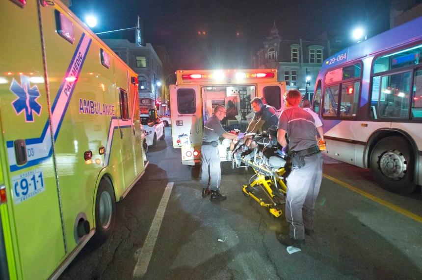 Deux morts, deux blessés à la suite d'une altercation sur Saint-Laurent