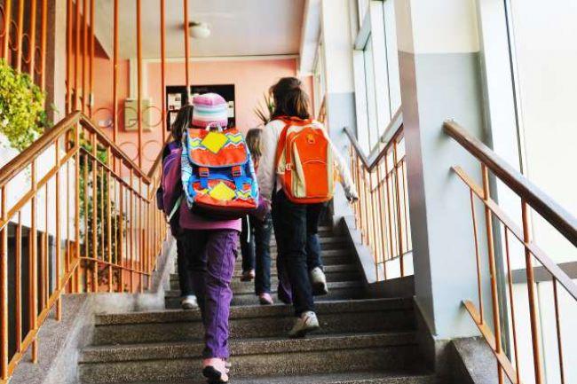 Attention aux sacs d'école des enfants