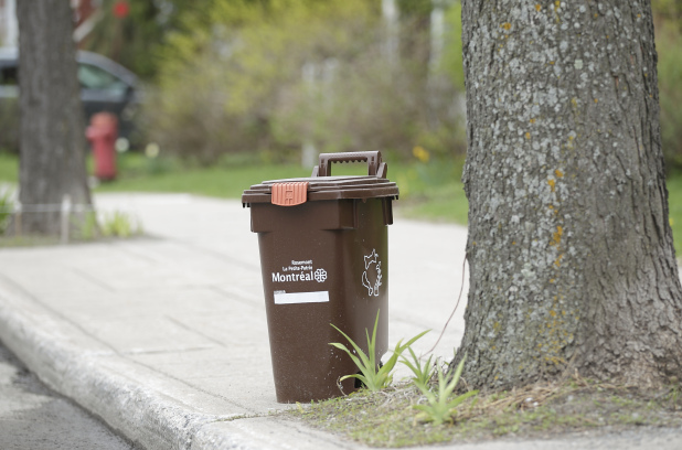 La construction d'un centre de compostage dans Saint-Laurent adoptée par la Ville