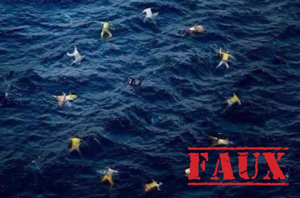 Non, cette photo n'est pas une oeuvre de l'artiste Banksy