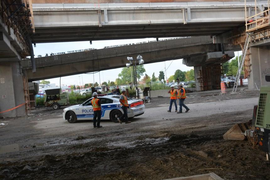 Un ouvrier fait une chute de plusieurs mètres sur le chantier Bonaventure