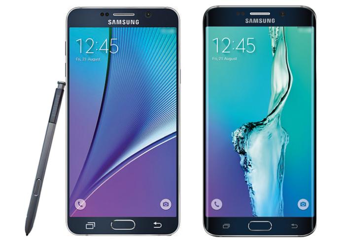 Des photos des prochains phablette et téléphone incurvé de chez Samsung