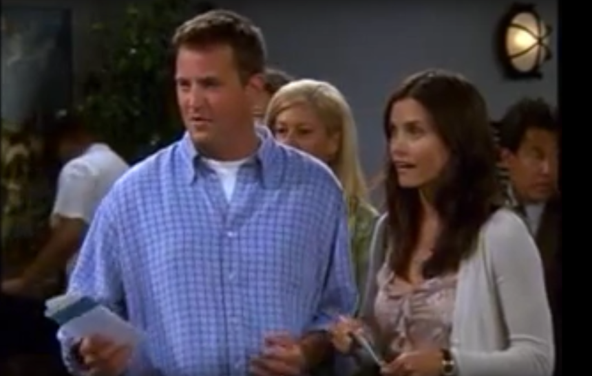 Un extrait inédit de la série «Friends»