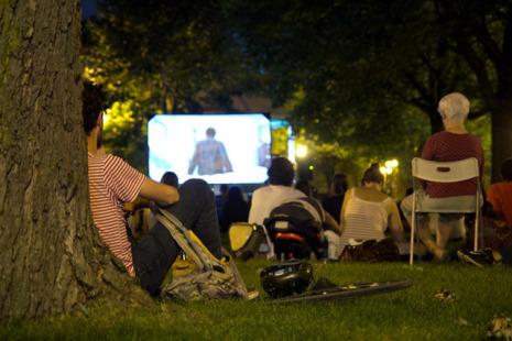 Cinéma sous les étoiles à Verdun