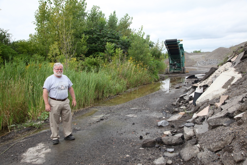 Site de dépôt: risques de contamination à Pierrefonds