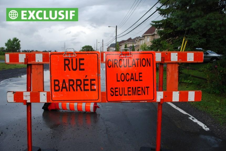 Boulevard Gouin: des travaux de 1,4M$ à refaire en entier
