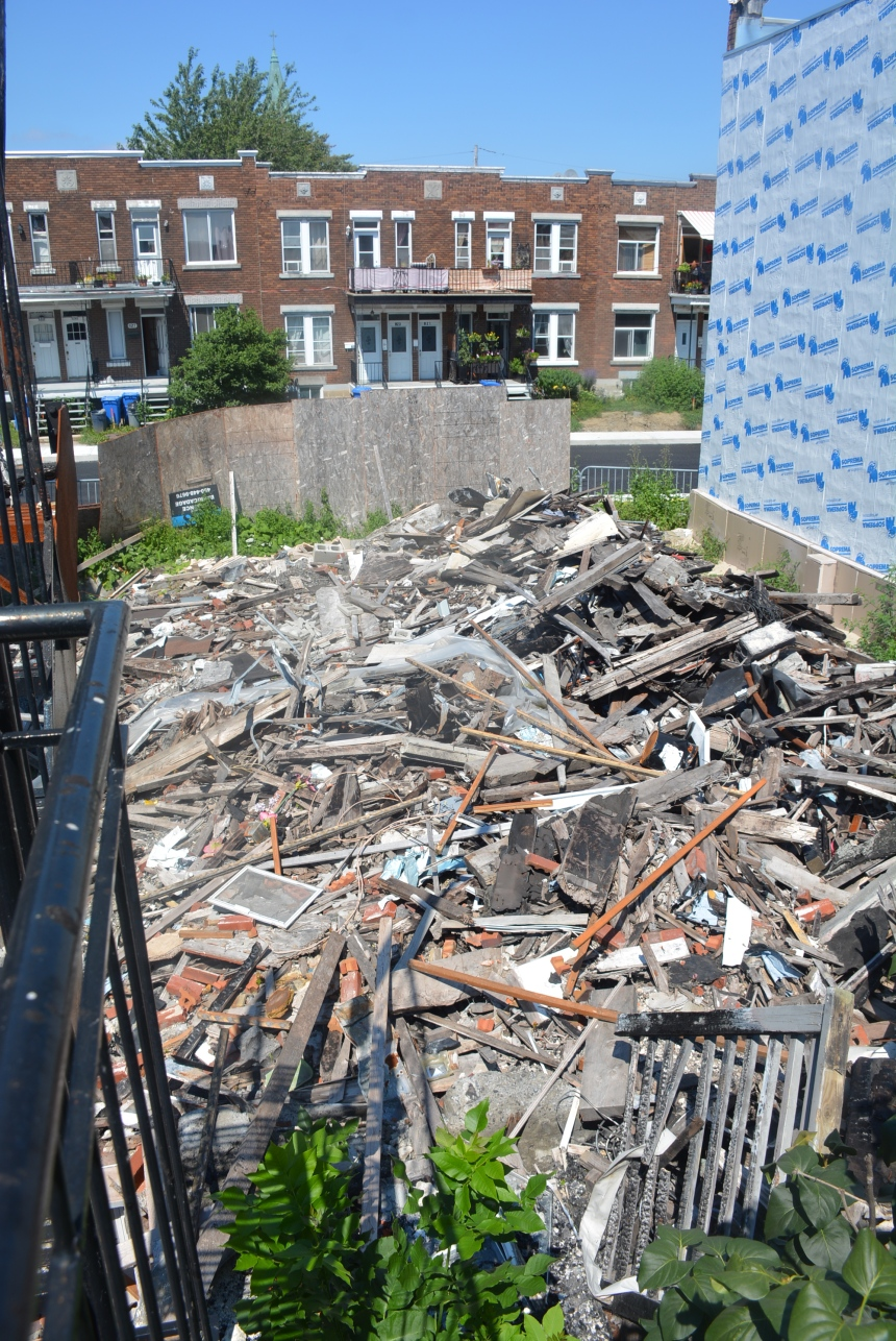 Maison incendiée abandonnée: le propriétaire mis en demeure
