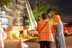 Incendie à la résidence John-Patterson