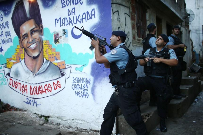 Plus de 1500 personnes tuées en 5 ans par la police Rio de Janeiro