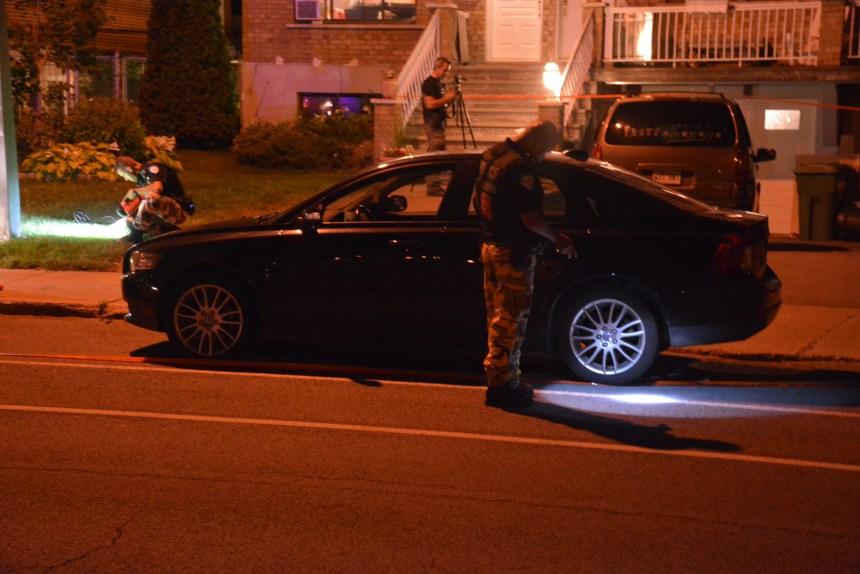 Montréal: Un homme blessé par balle en pleine rue