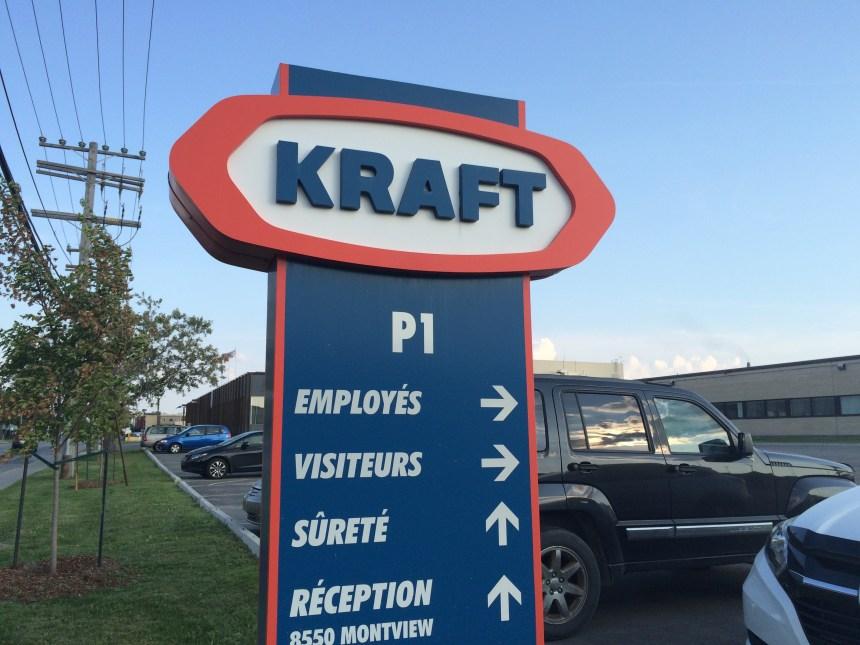 Les employés de l'usine Kraft sur la sellette