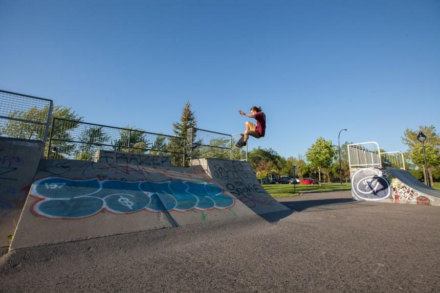 Un nouveau skatepark en 2016 au parc Père-Marquette