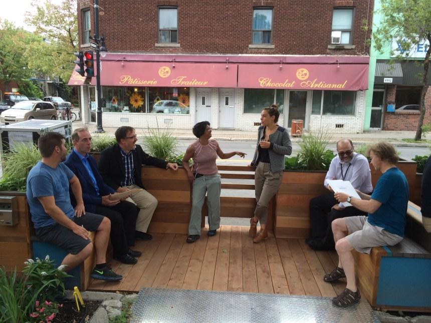Des terrasses pour revitaliser la rue Sainte-Catherine