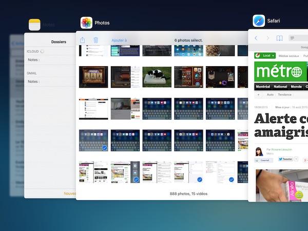 Trois fonctions d'iOS 9 que j'utilise constamment
