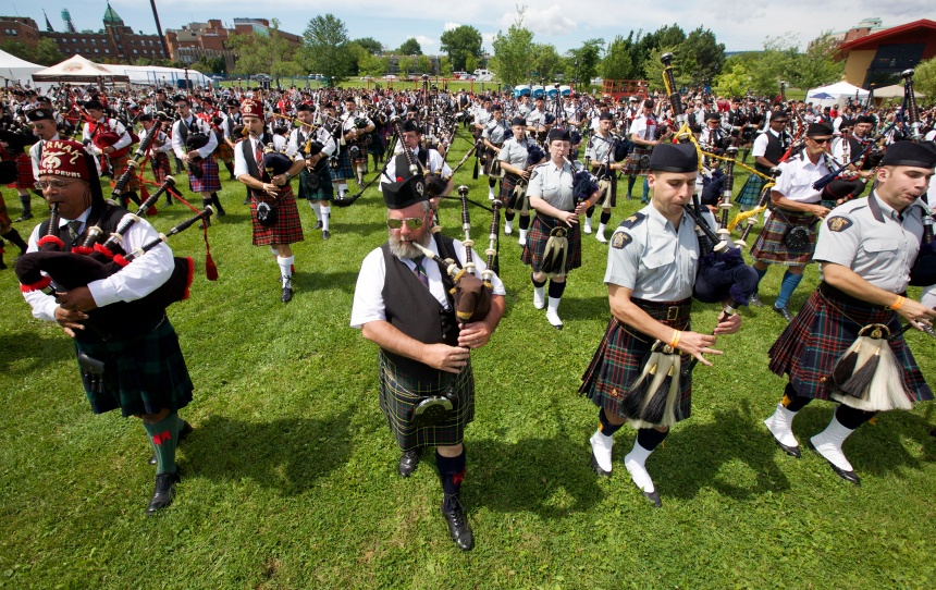 Jeux écossais de Montréal: l'Écosse en Verdun
